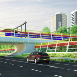 Brite Ideas: Clear Solar Panels Double as Highway Sound Barriers