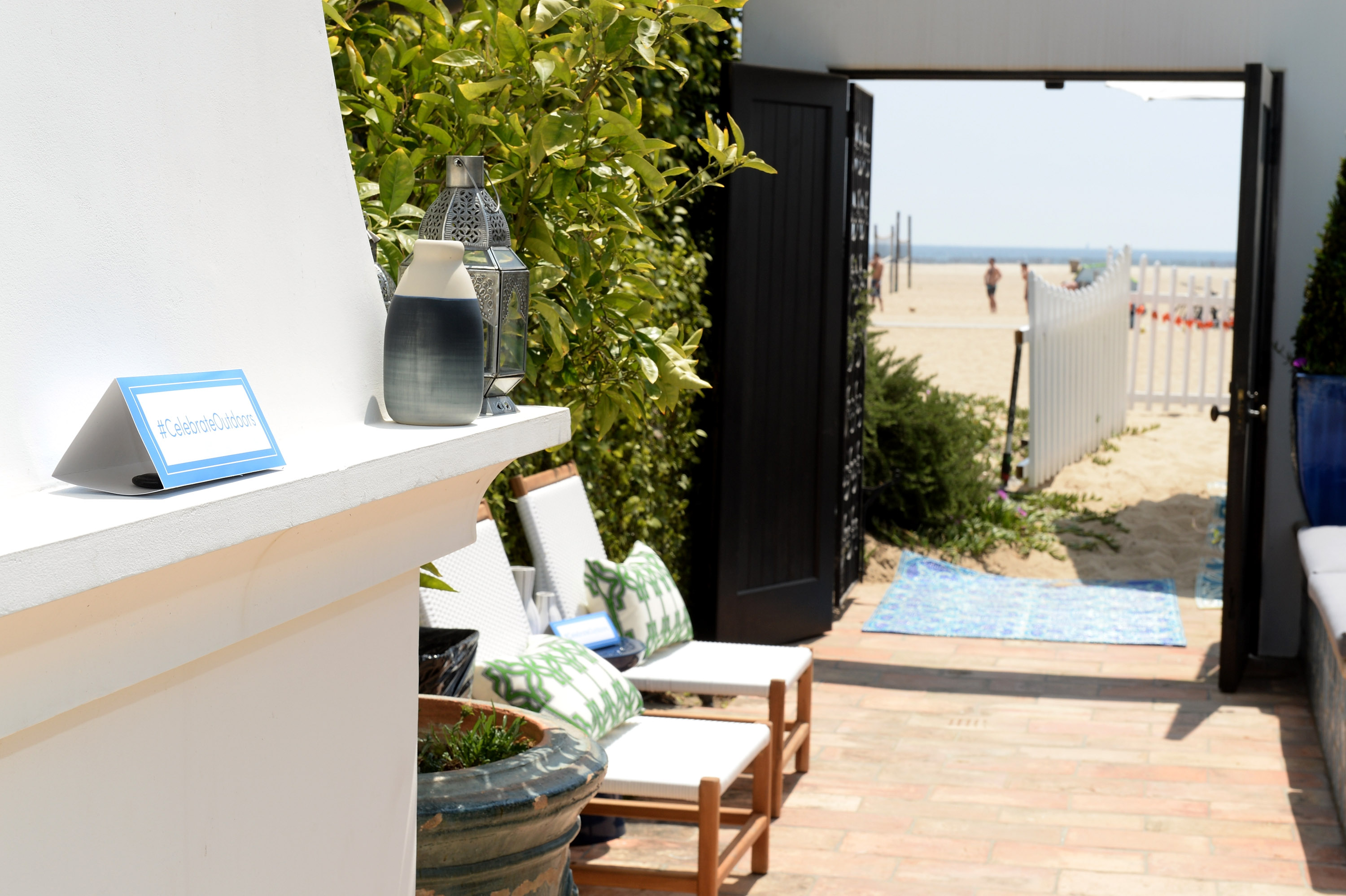 """SANTA MONICA, CA - MAY 14: General view of atmosphere at Cost Plus World Market's Santa Monica Beach House Party #Celebrate Outdoors on May 14, 2016 in Santa Monica, California. (Photo by Michael Kovac/Getty Images for Cost Plus World Market)"""